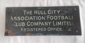 HCAFC office plaque