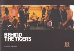 behind the tigers