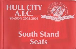 season ticket 02-03 BP