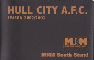 season ticket 02-03 KC